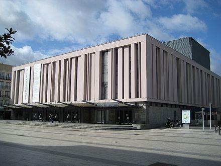 Le Député, Le Maire et l'Historien au Théâtre de Caen