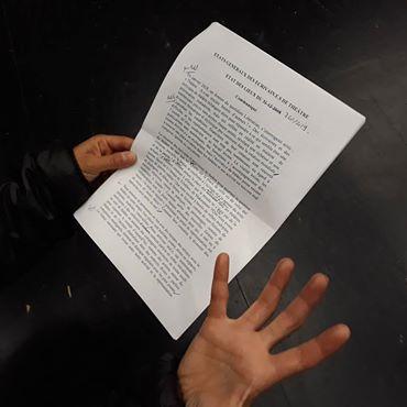 «Dix Shakespeare pour un auteur contemporain»