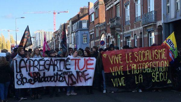 Immolation politique d'un étudiant devant le CROUS de Lyon