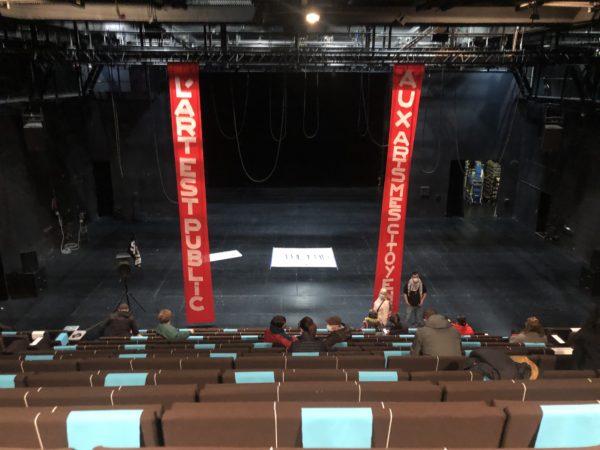 L'occupation du théâtre | un jour au Merlan