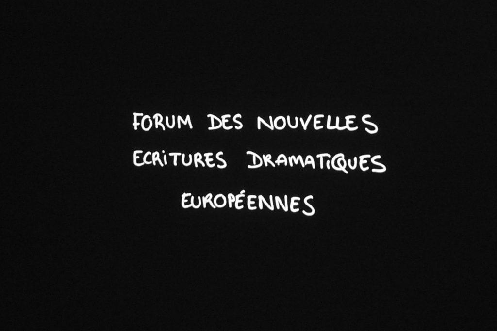 «Forum des écritures dramatiques européennes »… Première à Avignon